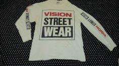 vintage 87' VISION STREET WEAR t-shirt skateboard santa cruz smp thrasher powell ($76.00) - Svpply