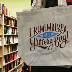 When the #CambMA bag ban goes into effect next week you'll have no choice but to remember! Grab this tote from @porter_square_books or head to scoutcambridge.com for picks from @blackinkboston @abodeon and a bunch of other local shops. by scoutmags March 23 2016 at 09:13AM
