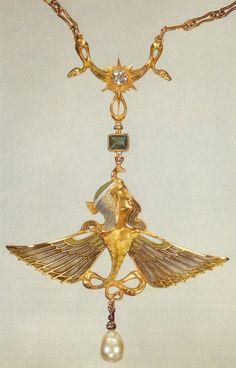 René Jules Lalique 2 - nejlon                                   Inspiration Egyptienne du temps des pharaons