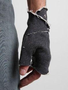 необычные перчатки и варежки