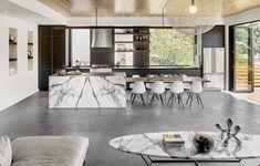 La cuisine moderne avec îlot en 24 idées exclusives mettant à l'honneur convivialité, aisance et dynamisme