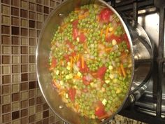 Quick and Easy Vegetable Soup #vegan #oilfree #glutenfree
