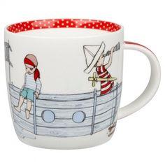 Pirates Mug { for W's birthday}