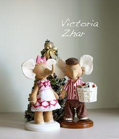 Слоники от Виктории Жар