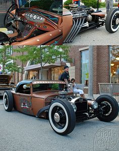 Rat Rod. love the paint
