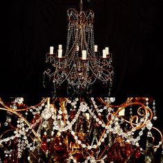 Antique Florentine chandelier