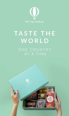 """Try The World is a subscription box that celebrates the unique cuisines and cultures of the world. We work with expert chefs to curate a box which is more than just a collection of gourmet food, but a cultural experience. Known as one of Travel+Leisure's top """"gifts for foodies"""" in 2015, our Special Edition Holiday Box is perfect for food and travel lovers. Buy one today and get one for FREE!"""