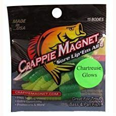 Leland Lures Crappie Magnets 2 packs 30 pc total white
