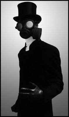 Darque & Lovely: No one knows I'm here // Mask Horror Show, Gothic Horror, Masks Art, Dark Photography, Post Apocalyptic, Dieselpunk, Cool Costumes, Dandy, Gentleman