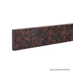 "25"" Granite Vanity Backsplash - Baltic Brown"