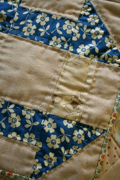 hand quilting / Sewn With Grace: Projects
