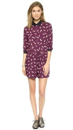 Paul & Joe Sister Scarefox Romper