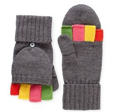 Cute! When you can't decide between mittens and gloves ;)