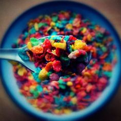 Fruity pebbles... Oh how I love you.