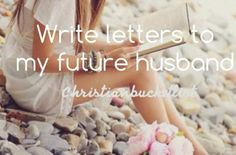 bucket list♡ just like in the Christy Miller books!