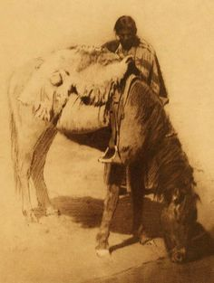 A Drink in the Desert - Navaho.