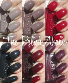 Essie Fall 2013 Colors Can't Wait