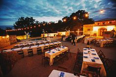 beautiful outdoor reception in Austin | Images by Eclectic Images