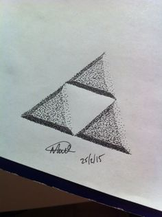 #pointilism #triforce
