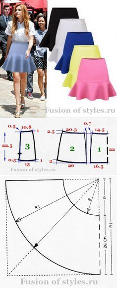 Ideas for skirt pattern sewing mermaid