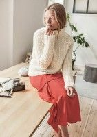 Turtle Neck, Pullover, Sweaters, Cardigans, Wool, Knitting, Inspiration, Arrow Keys, Close Image