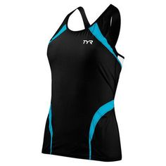 My Triathlon - TYR Women's Carbon Triathlon Tank, �74.00 (http://mytriathlon.co.uk/tyr-womens-carbon-triathlon-tank/)