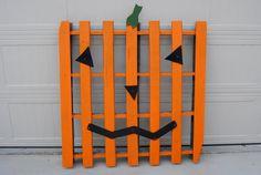 Wooden Pumpkin Pallet