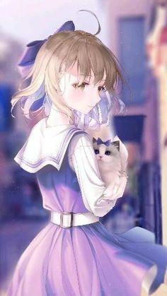 Manga Anime Girl, Anime Neko, Kawaii Anime Girl, Anime Guys, Pretty Anime Girl, Cool Anime Girl, Anime Devil, Anime Angel, Anime Songs