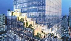 ニューヨークの流れるようなテラスに包まれたBIGの螺旋状のオフィスタワー|TOKYO DESIGN WEEK 東京デザインウィーク