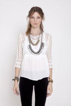 Camisa Mina lux - Rapsodia Argentina