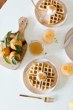 Coconut Waffle Recip