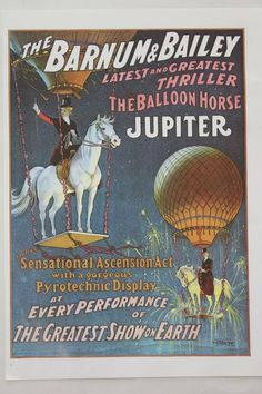 Vintage Circus Poster by diane.smith