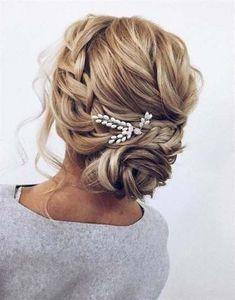 Best wedding hairstyles updo bridesmaid up dos braid buns ideas #wedding #hairstyles