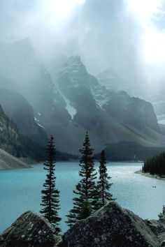 italian-luxury: Clouds over the Lake by Chad Kruger Moraine Lake,Banff, Canada Banff National Park, National Parks, Beautiful World, Beautiful Places, Moraine Lake, Visit Italy, Italy Vacation, Adventure Is Out There, Landscape Photos
