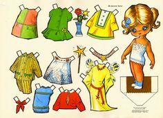 : Muñecas de papel