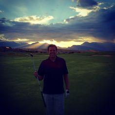 Morning golf! Photo by sptaggart • Instagram