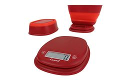 Red Digital Scale w/ Bowl, 1.5 Qt on OneKingsLane.com