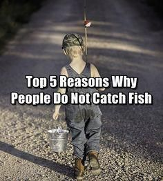 Top 5 Reasons Why People Do Not Catch Fish Just because you have fished, doesn't mean you know how to catch fish. read the top reasons here. Fly Fishing Knots, Trout Fishing Tips, Fishing Kit, Crappie Fishing, Kayak Fishing, Fishing Boats, Fishing Hole, Fishing Guide, Fishing Quotes