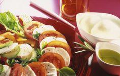 Salada Caprese com Mozzarella Galbani