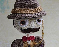Crochet heart crochet pattern DIY by VendulkaM on Etsy