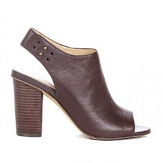 Gilia adjustable block heel - Oxblood