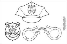 Printable Police Coloring Pages