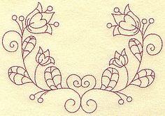 floral swirl