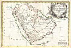 Arabia Magna Map 1771