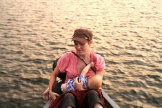 I can feed him on a boat... An awesome blog post with a series of beautiful breastfeeding photos <3 Highlights how wonderful Breastfeeding is, wherever you are <3 I LOVE this!