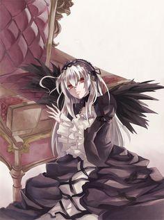 rozen maiden, suigintou