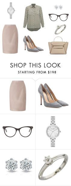 """""""dreams"""" by anastasiasinitsyna on Polyvore featuring мода, Jacques Vert, Gianvito Rossi, STELLA McCARTNEY, Kate Spade и Tiffany & Co."""