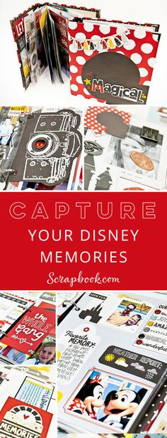 Capture your treasured Disney memories with Layle Koncar from Simple Stories as she teaches fun tips, cool tricks and offers tons of inspiration for creating an album filled with magical moments. Enroll today for FREE at Scrapbook.com!