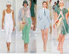 714c547eeff Ralph Lauren s Spring Summer collection smacked of Great Gatsby-inspired  1920s style. Great