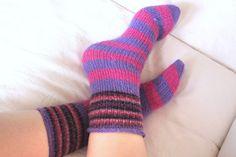 Moois van ' M(i)e': mijn eerste paar warme sokken